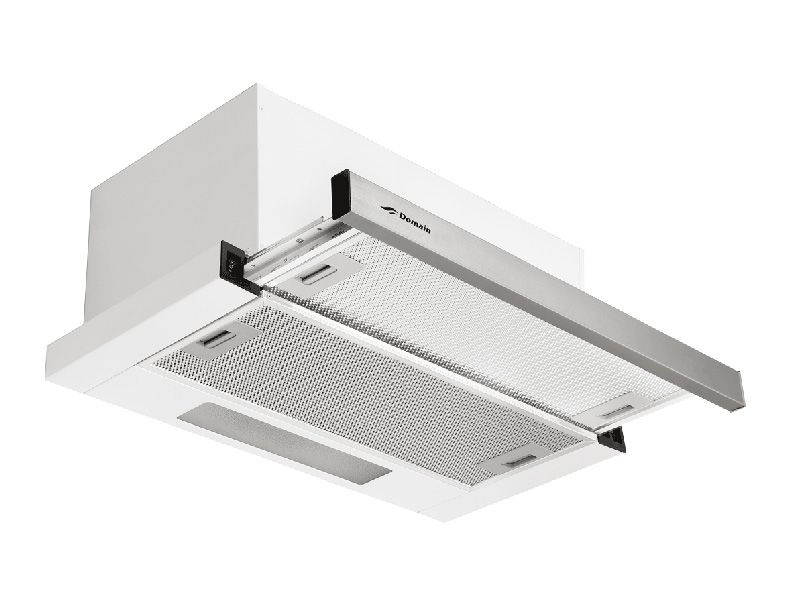 Domain 60cm Premium Powerful Stainless Steel Inbuilt Slide Out Rangehood