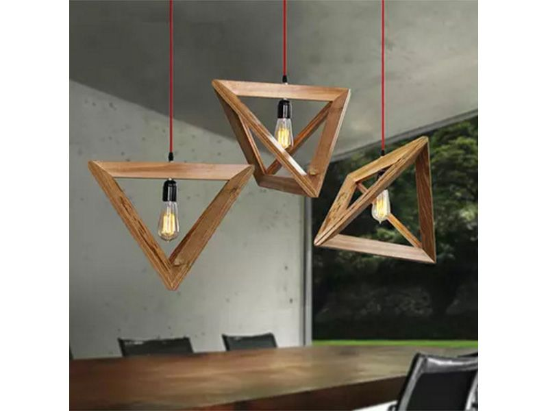 Wood Pendant Lights 01